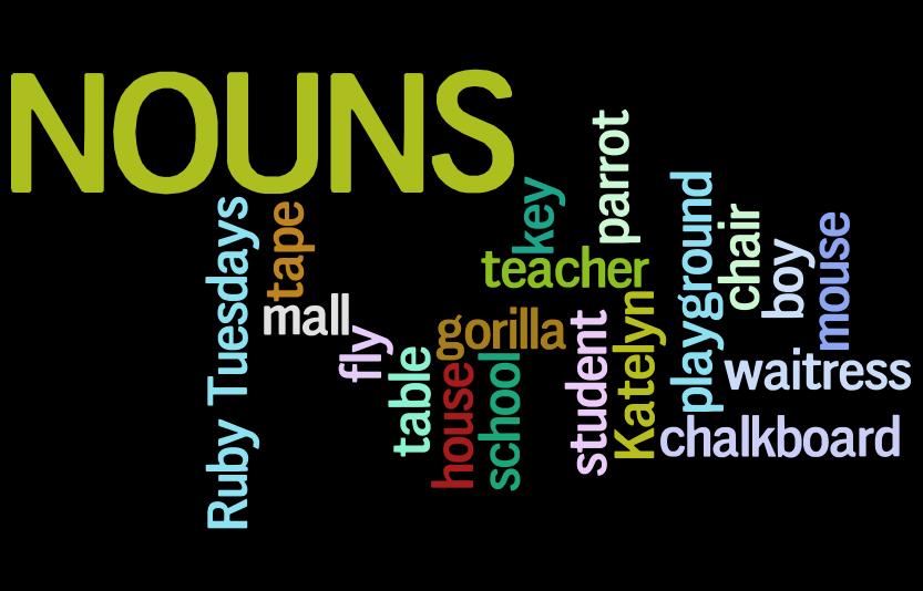 Sustantivos en inglés