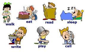 Conjugación de verbos en inglés