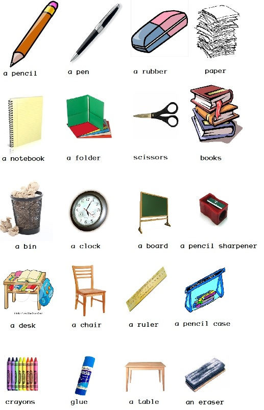 Objetos en ingl s como aprender ingl s bien for Mobiliario en ingles