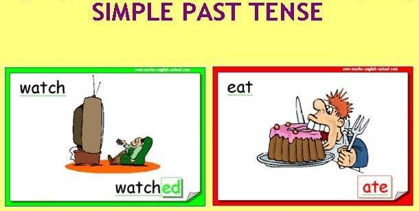 verbos en inglés en pasado