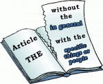 Artículo determinado 'The'