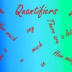 Cuantificadores en inglés