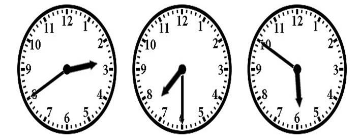 Ejercicios de horas en inglés