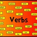Tabla de verbos en inglés