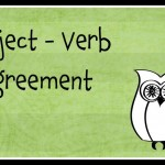 Ejercicios subject verb Agreement