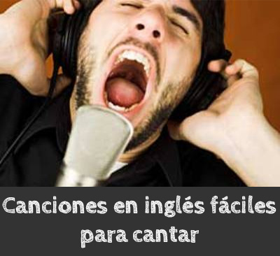 chansons anglaises faciles à chanter